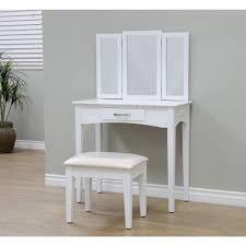 megahome 3 piece white vanity set