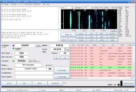 Amateur radio loging programs