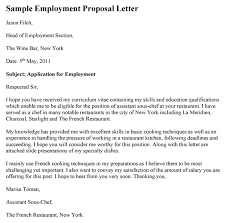 Hiring Letter Samples Employment Proposal Letter Template