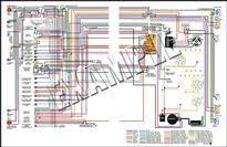 nova parts 14367a 1967 nova full color wiring diagram 11x17 1967 nova full color wiring diagram 11x17