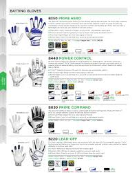 Youth Glove Size Chart Football Cutters 2015 Catalog