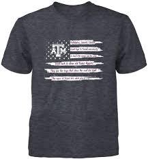 Aggie War Hymn Christmas Lights Amazon Com Fanprint Texas A M Aggies T Shirt Fight Song