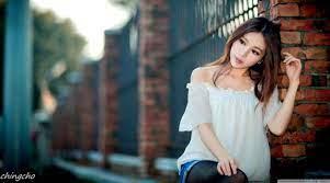 Korean Girl Wallpaper 4k