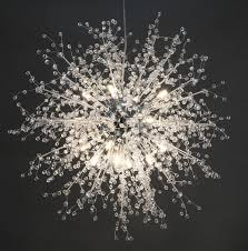 Us 11151 41 Offgdns Kronleuchter Feuerwerk Led Licht Edelstahl Kristall Kronleuchter Beleuchtung Globe Wohnzimmer Schlafzimmer Restaurant