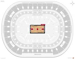 Quicken Loans Seating Chart Chicago Bulls Seating Guide United Center Rateyourseats