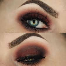 inspired grunge we can t wait to rock this makeup look for fall with a flannel and vy lips red brown smokey eyes are everything fo