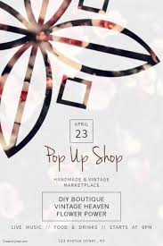 pop up brochure template pop up shop store flyer template postermywall