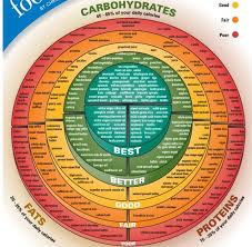 Food Chart Carbohydrates Fats Protein Pin On Foodie Random