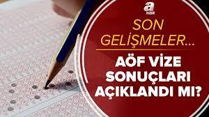 Anadolu Üniversitesi'nden son dakika açıklaması: AÖF sınav sonuçları  açıklandı mı? 2021 AÖF vize sınavı sonuçları...