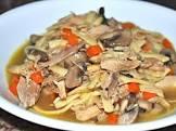 a yummy chicken noodle soup  8 qt  pressure cooker