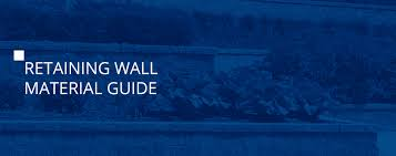 what retaining wall material should you