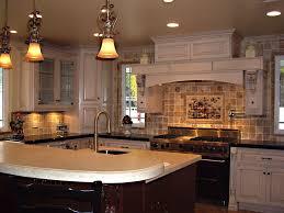 Kitchen:Elegant French Country Kitchen Wall Decor With Espresso Oak  Hardwood Floor And White Elegant