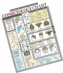Cosmetology Chart Cheat Sheet For Hair Stylists Students