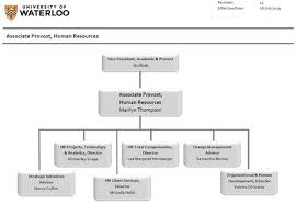 Hr Organizational Chart Reporting Structure Associate Provost Human Resources