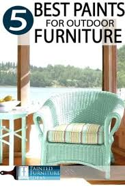 best paint for outdoor furniture