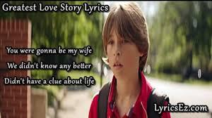 Greatest Love Story Lyrics - LANco - LyricsEz