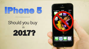 iPhone 5 in 2017 Should you still it