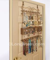 Jewelry Organizer Wall Longstemr Overdoor Wall Jewelry Organizers Free Shipping 20