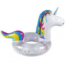 "<b>Круг надувной</b> ""<b>Unicorn</b> Glitter"" бренда <b>BigMouth</b> – купить по цене ..."