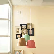 Linear Suspension Pendant Lighting Us 96 0 Modern Minimalist Decorative Pendant Pendant Lamps One Led Creative The Bedroom Linear Suspension 3 Fabric Lampshade In Chandeliers From