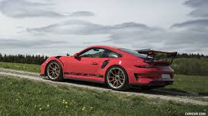 The porsche 991.2 gt3 rs is a spectacular engineering achievement. 2019 Porsche 911 Gt3 Rs Color Guards Red Side Hd Wallpaper 158