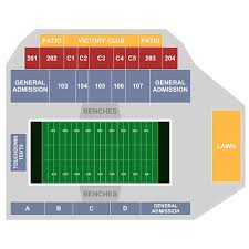 Unh Wildcat Stadium Seating Chart Villanova Wildcats Football At New Hampshire Wildcats