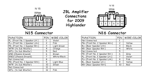jbl amplifier wiring diagram jbl wiring diagrams toyota jbl wire