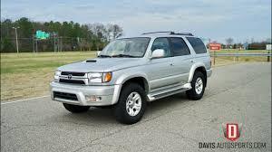 Davis AutoSports 2001 Toyota 4Runner Sport For Sale - YouTube
