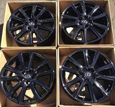 19 Lexus Gs Gs350 Gs450 F Sport Gloss Black Wheels Rims Factory Set Oem 74296 Lexus Black Wheels Wheel Rims Lexus