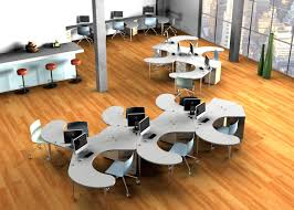 awesome open office plan coordinated. Best Open Plan Office Desks | What You Need To Knowomnirax Awesome Coordinated