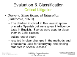 Diana V State Board Of Education Individual Rights And Legal Issues Ppt Download