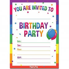 Online Printable Birthday Party Invitations Cool Free Online Printable Birthday Invitation Templates
