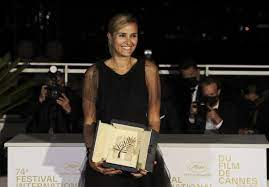 Cannes honor, 2nd ever for female director