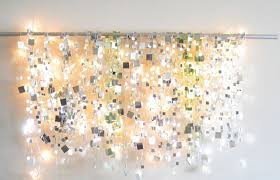 string light diy ideas for cool home decor sparkle mirror garlands are fun for teens
