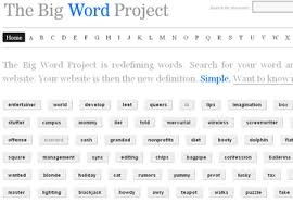 Word Project The Big Word Project Wikipedia