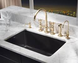 Black Kitchen Sinks And Faucets Black Kitchen Sinks And Faucets E