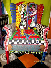 cool funky furniture. picasso armchair furniture chairsfunky furniturepainted chairscool cool funky t