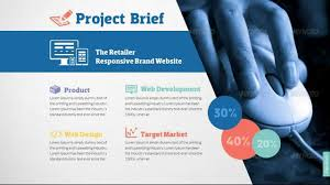 Format For Presentation Of Project Web Design Development Project Presentation Template Youtube