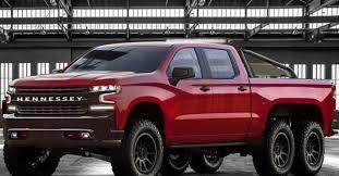Hennessey Goliath 6x6 is a Six-Wheeled Chevrolet Silverado | Digital ...