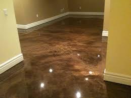 image of basement floor paint brown