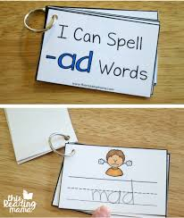 Word With Ad Learn To Read Ad Word Family Reader Activities This Reading Mama