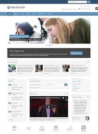 College Templates 13 High Quality Educational Website Templates In 2017 For