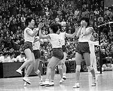 「東京オリンピック 1964女子バレーボール」の画像検索結果