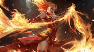 lina from dota 2 brand from league of legends hottest couple