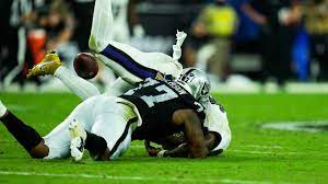 Perryman recovers critical fumble after ...