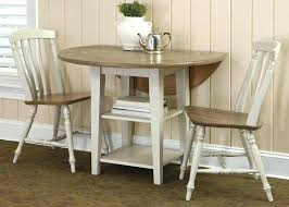 drop leaf round kitchen table 3 piece dining table popular of white drop leaf dining table