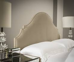 upholstered headboard bed. Simple Headboard Amelia Upholstered Headboard  On Bed L