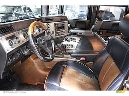 Ebony/Brown Interior 2004 Hummer H1 Convertible Photo #55457063 ...