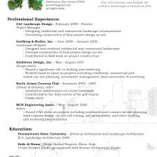 landscape architect resumemples landscaping owner examples