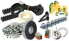 PEQUEÑO MATERIAL ELECTRICO - ficha emplame correillas electricista bridas, cintas, vinilos